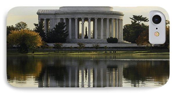 Jefferson Memorial In Autumn IPhone Case