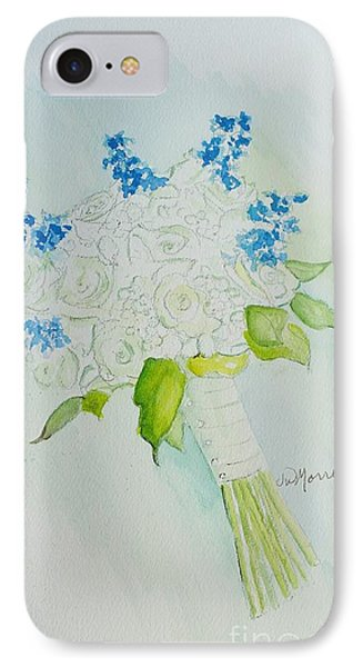 Jennifer's Wedding Bouquet IPhone Case