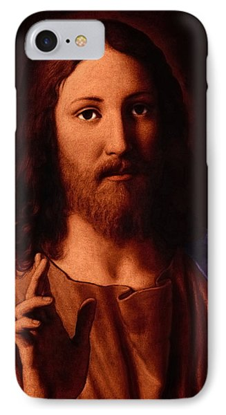 IPhone Case featuring the digital art Jesus Christ by A Samuel