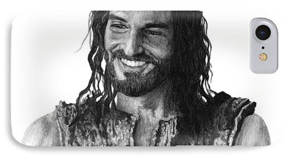 Jesus Smiling IPhone Case