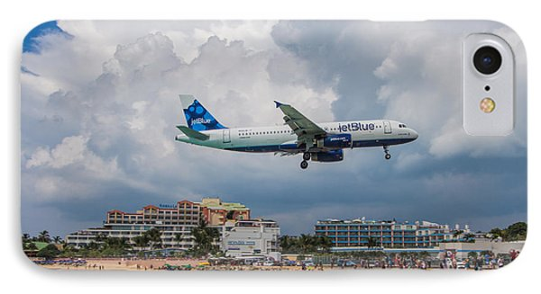 jetBlue in St. Maarten IPhone Case