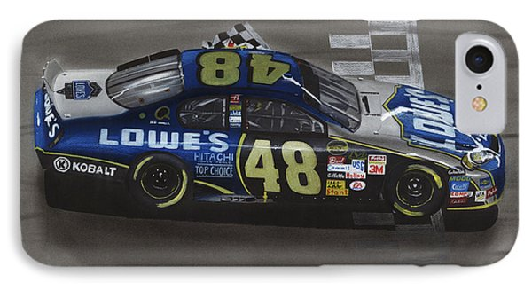 Jimmie Johnson Wins IPhone Case