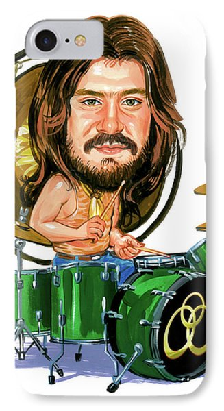 Drum iPhone 8 Case - John Bonham by Art