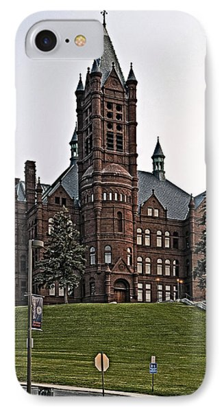 John Crouse Memorial College For Women IPhone Case