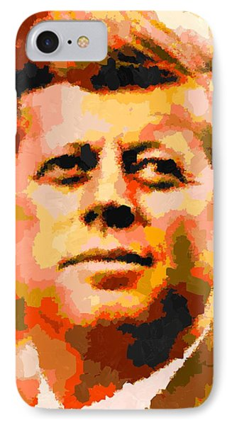 John Fitzgerald Kennedy - Abstract IPhone Case