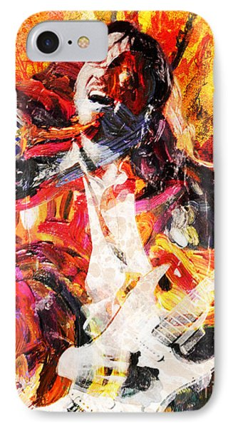 John Frusciante - Red Hot Chili Peppers Original Painting Print IPhone Case