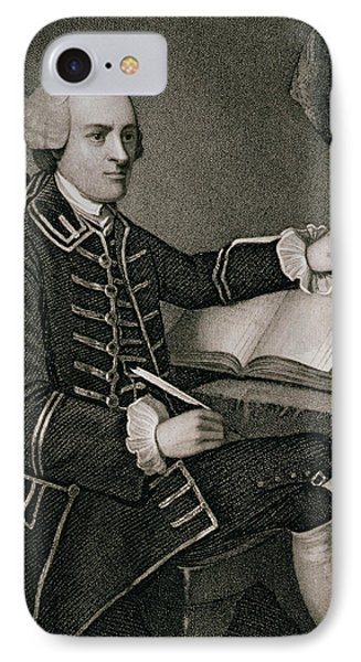 John Hancock IPhone Case