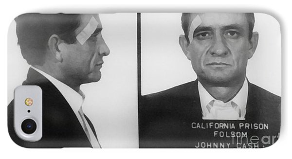 Johnny Cash Folsom Prison Large Canvas Art, Canvas Print, Large Art, Large Wall Decor, Home Decor IPhone Case