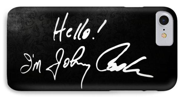 Johnny Cash Museum IPhone Case