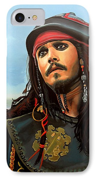 Johnny Depp As Jack Sparrow IPhone Case