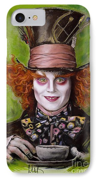 Johnny Depp As Mad Hatter IPhone Case