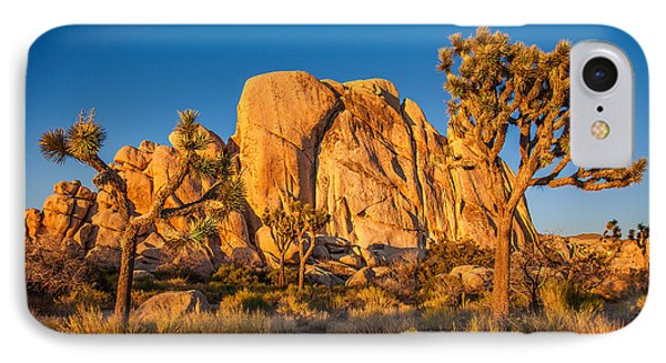 Desert iPhone 8 Case - Joshua Tree Sunset Glow by Peter Tellone
