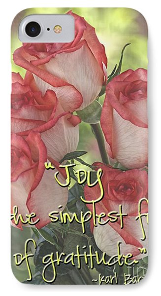 Joyful Gratitude IPhone Case