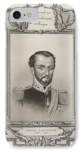 Juan Lavalle IPhone Case