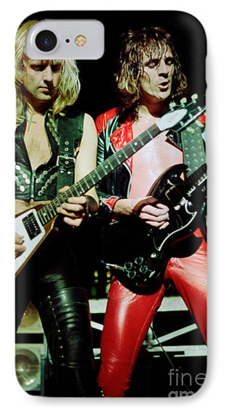 Judas Priest At The Warfield Theater During British Steel Tour IPhone Case