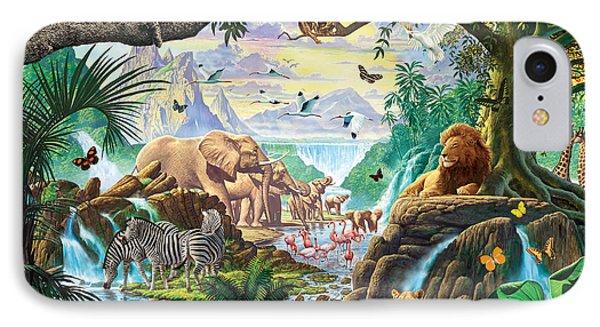 Jungle Five IPhone Case