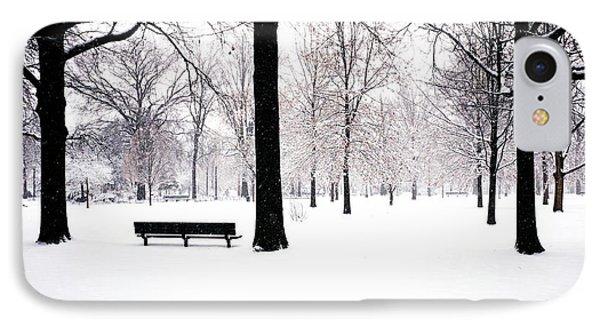 Jupiter Park In Snow IPhone Case