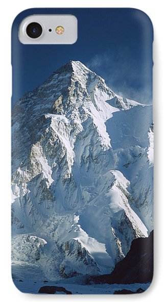 Mountain iPhone 8 Case - K2 At Dawn Pakistan by Colin Monteath