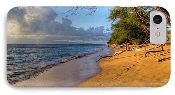 Kaanapali Beach Stroll IPhone Case