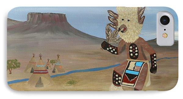 Kachina Owl Dancer IPhone Case