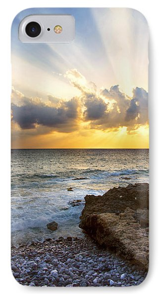 Kaena Point State Park Sunset 2 - Oahu Hawaii IPhone Case