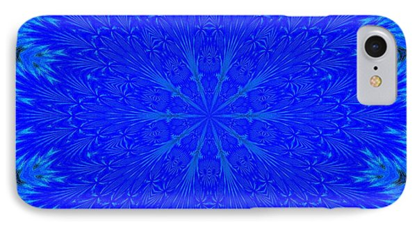 Kaleidoscope Blues IPhone Case