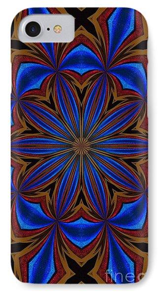 Kaleidoscope Feathers Four IPhone Case