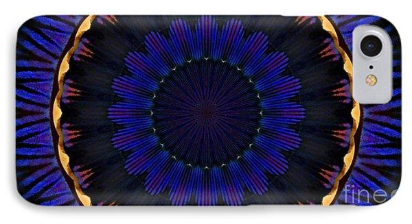 Kaleidoscope Feathers IPhone Case