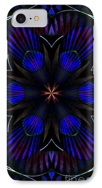 Kaleidoscope Feathers Three IPhone Case