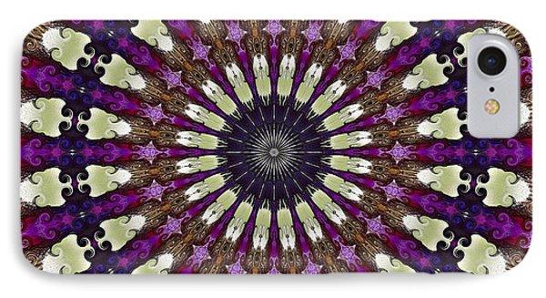 Kaleidoscope Iris IPhone Case