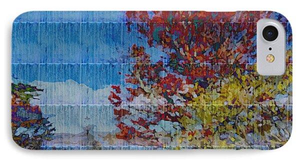 Kaleidoscopic Autumn Scene II IPhone Case