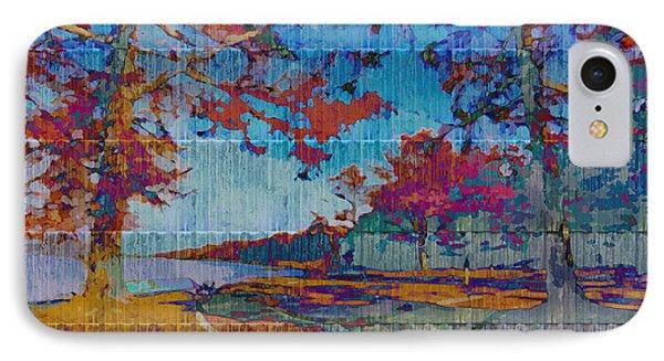 Kaleidoscopic Autumn Scene Iv IPhone Case
