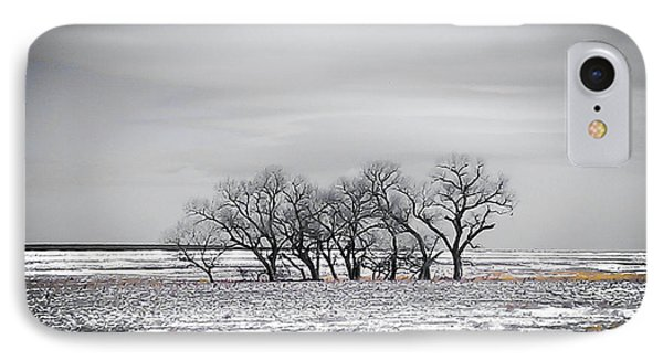 Kansas Snow IPhone Case