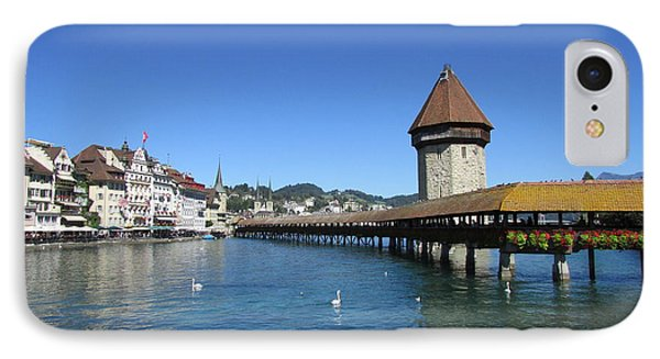 Kapellbruecke IPhone Case