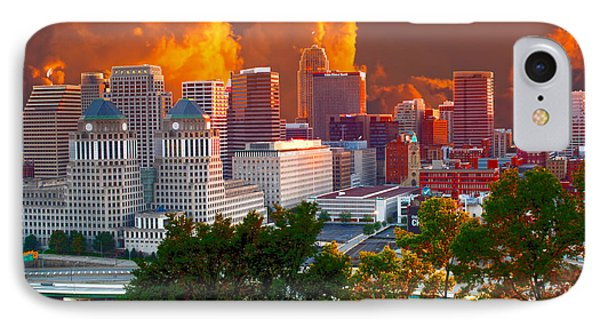 Katrina Storm Hits Cincinnati IPhone Case