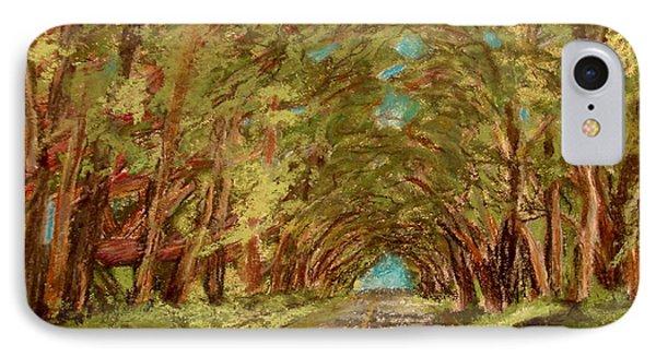Kauiai Tunnel Of Trees IPhone Case