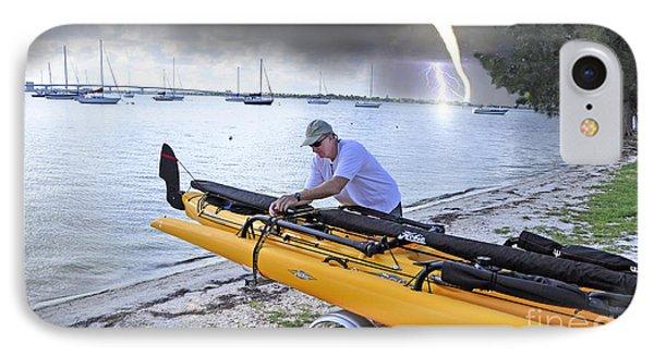 Kayak Storm IPhone Case