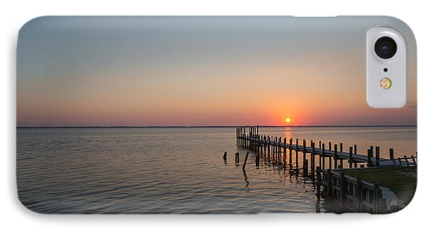 Kayaks In Sunset IPhone Case