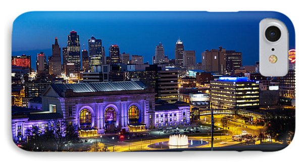 Kcmo Union Station IPhone Case