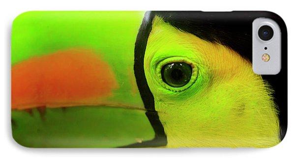 Belize iPhone 8 Case - Keel-billed Toucan (ramphastos by Stuart Westmorland