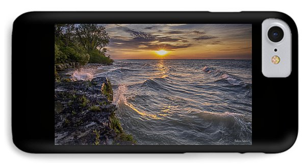 Kelleys Island At Sunset IPhone Case