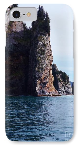 Kenai Fjords Rock Formation IPhone Case