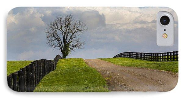 Kentucky Horse Farm Road IPhone Case