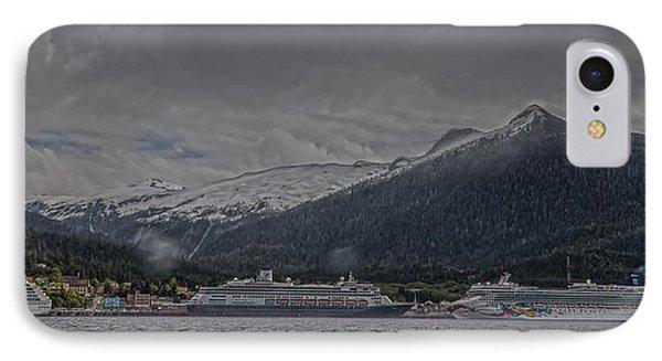 Ketchikan Alaska's Waterfront IPhone Case