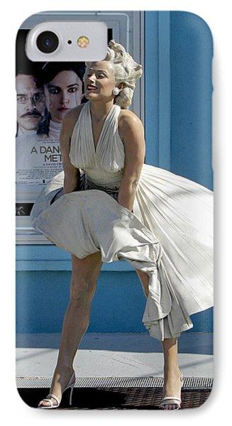 Key West Marilyn IPhone Case