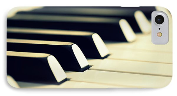 Keyboard Of A Piano IPhone Case