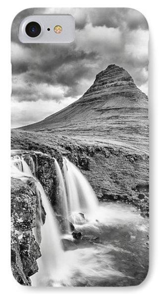 Kifrkjufell Waterfall IPhone Case