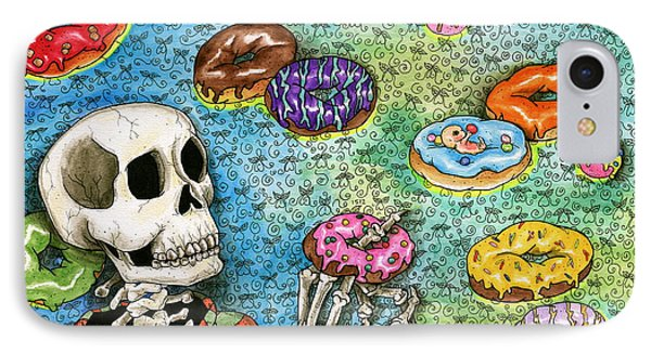 killer Donuts IPhone Case