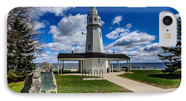 Kimberly Point Lighthouse IPhone Case