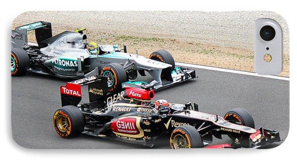 Kimi Raikkonen And Lewis Hamilton IPhone Case